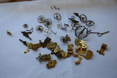 antique carriage  clock escapement platforms parts 14