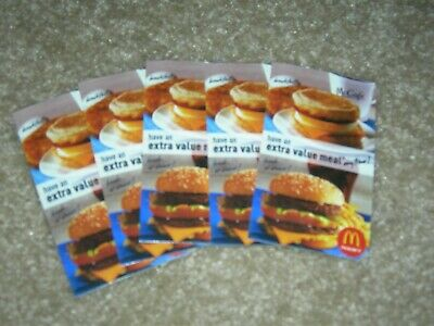 McDonalds Free Value Meal Qty 5 -Combined shipping on 2 or more