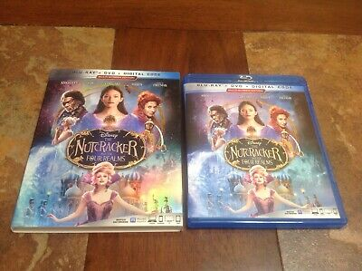 The Nutcracker And The Four Realms (Blu-Ray+DVD) with Slipcover,no Digital code