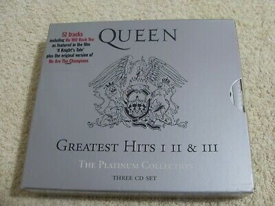 Queen......greatest Hits I, Ii & Iii (Platinum Collection)....(3Cd Boxset 2000)