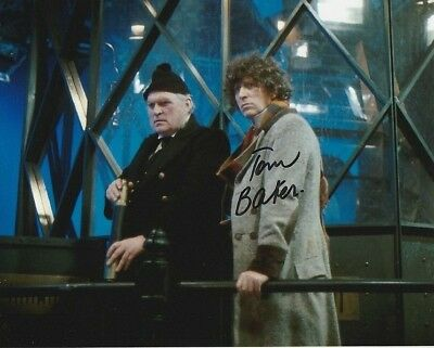 Tom Baker In Person signed photograph - Doctor Who - A310