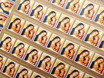 50 X 2Nd Class Unfranked Stamps Self Adhesive Easy Peal F/v £29
