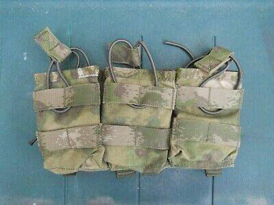 Warrior Assault Systems Triple Open G36 Mag MOLLE Pouch A-TACS FG