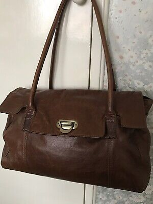 0116f757ee89 Marks and Spencer autograph Leather Tote Bag