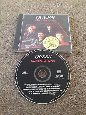 QUEEN Greatest Hits CD Mercury May Bohemian Rhapsody Now I'm Here Save Me Flash