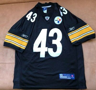 47d72c04e89 REEBOK AUTHENTIC PITTSBURGH Steelers Jerome Bettis  36 jersey size ...