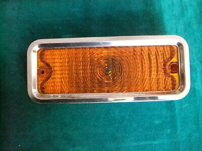 1973 chevolet pickup truck signal parking light NOS GUIDE IT amber oem