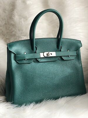 HERMES BIRKIN 30 Bag Beautiful Ostrich Parchemin Gold Hardware ... 22cdbaec7096b