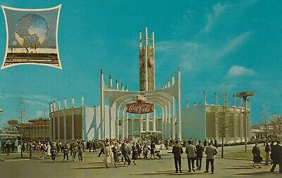 1964-1965 NEW YORK WORLD'S FAIR The Coca-Cola Pavilion
