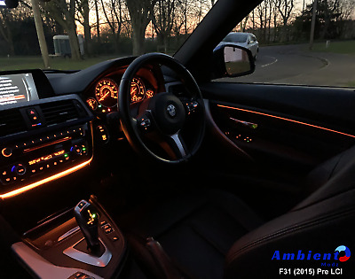 One Piece BMW 4 Series GC F36 Ambient Light Insert Mod Upgrade - Improved Design