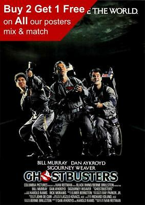 Ghostbusters 1984 Movie Poster A5 A4 A3 A2 A1