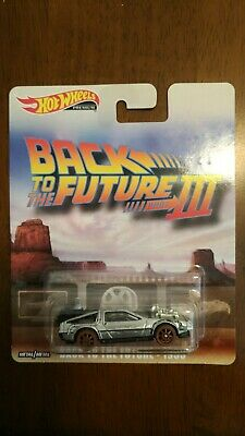 Hot Wheels 2019 Retro Entertainment, Back To The Future III , Old West Delorean