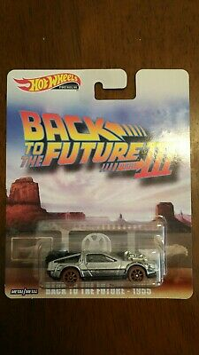Hot Wheels 2019 Retro Entertainment Back To The Future III , Old West Delorean