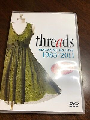 Threads Magazine Archive 1985-2011 - searchable database 158 issues DVD