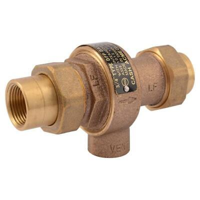 """Backflow Preventer Prevents polluted water entering potable water supply 3/4"""" in"""