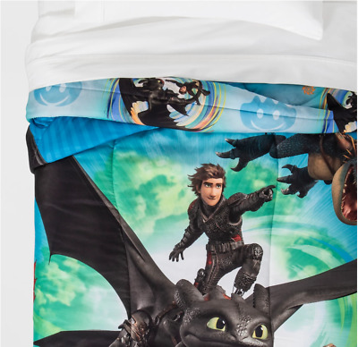 How To Train Your Dragon 3 Comforter Twin Reversible-Super Soft