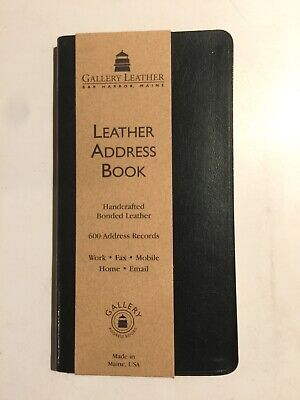 gallery leather address book 11219 acadia green