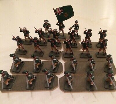 27ea 1:72 scale painted plastic 18th Cent./American Revolution British Infantry