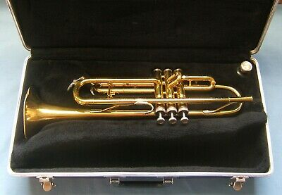 King Tempo 600 Trumpet and Case Ser.#38-257502