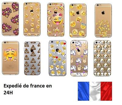 coque iphone 7 emoji caca