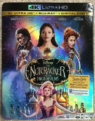 The Nutcracker and the Four Realms 4K ( New and factory sealed )