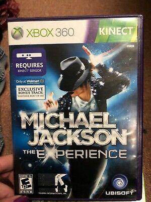 MICHAEL JACKSON THE Experience Xbox 360 Game Complete Kinect