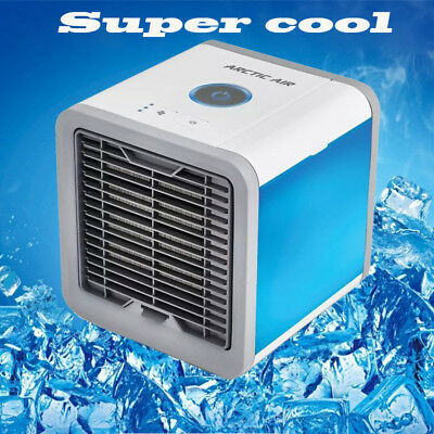2x Mini USB Rechargeable Cooling Conditioner Portable Air Cooler Desktop