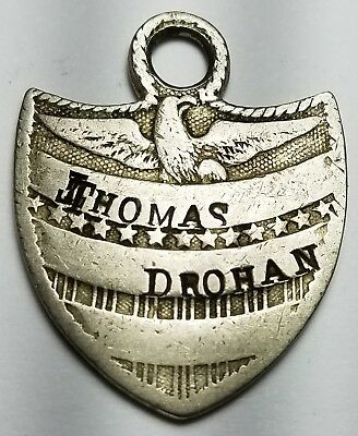 WHAT IS THIS?  PATRIOTIC SHIELD EAGLE w/ 13 STARS THOMAS DROHAN FOB TOOL CHECK ?