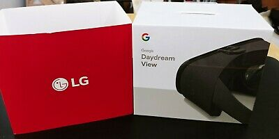 Brand New Factory Sealed LG Google Daydream View VR Headset Charcoal