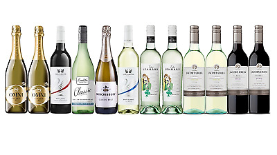 AU Best Seller Classic Mixed Red & White Wine 12 x 750mL - FAST & FREE SHIPPING