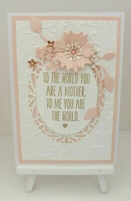 Handmade Mother's Day Card:You are the World