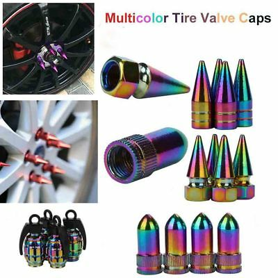 Special Aluminum Alloy Tire Valve Stem Caps For Auto Car Truck Motobike Bicycle