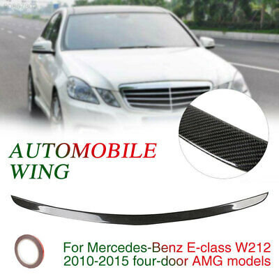 E1FB AMG Style Spoiler Wing Car Decoration 2010-2015 Car Tail Wing