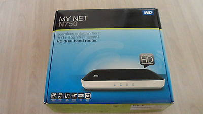 MY NET N750 HD Dual Band Router Wireless N WiFi Router. Retail: $99.99