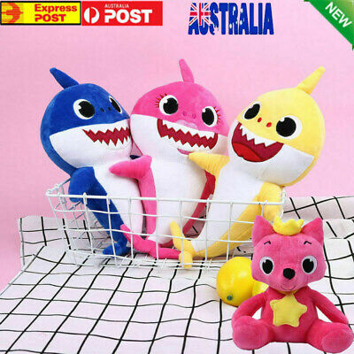 2019 Baby Shark Plush Singing Plush Toys Newborn Kids Soft Doll Toy Gift