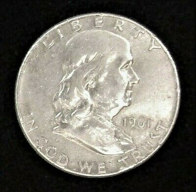 1961 P Franklin Half Dollar #200112