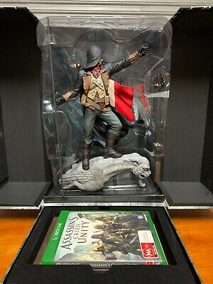 Assassins Creed Unity Notre Dame Xbox One Games Statue Collectors edition