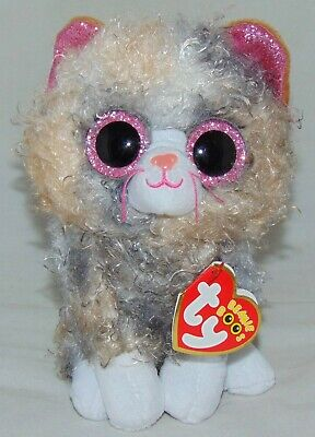 2019 Ty Beanie Boos SCRAPPY the Kitty Cat 6