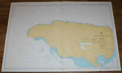 Nautical Chart No. 256 West Indies - Western Approaches to Jamaica