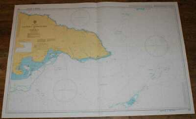 Nautical Chart No. 255 West Indies - Eastern Approaches to Jamaica