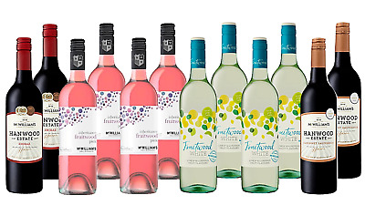 Mixed McWilliam's Wine Pack 5-Star Winery 12x750mL - FREE SHIPPING