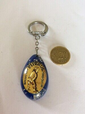 Porte Clefs Piperol Oxyures-ascaris-vermifuge- Inclusion-vintage-keychain