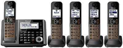 Panasonic KX-TG585SK DECT 6.0 Plus Link-to-cell Bluetooth Cordless Phone System