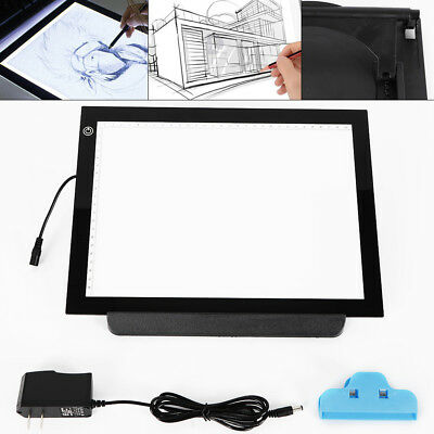 Helpful Dimming Digital Tablet A4 Led Drawing Pad Light Box Tracing Copy Board Graphic Art Painting Table Panel Top Watermelons Office & School Supplies File Folder Accessories