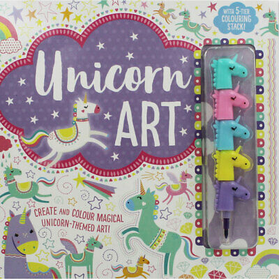 Unicorn Art by Make Believe Ideas (Hardback), Children's Books, Brand New
