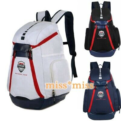 Olympic Unisex Bags U.S.A National Team Backpack Teenager Basketball Backpack