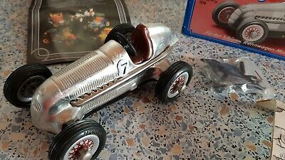 Schuco Studio NEU Mercedes Grand Prix 1936+Karton # 9 1051000 Zinnf. Nickel