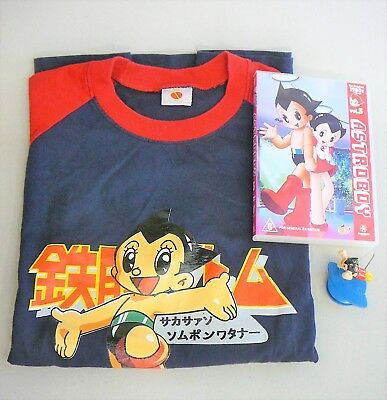 Astro Boy Items - T-Shirt, DVD & Mini Hanging/Flying figure