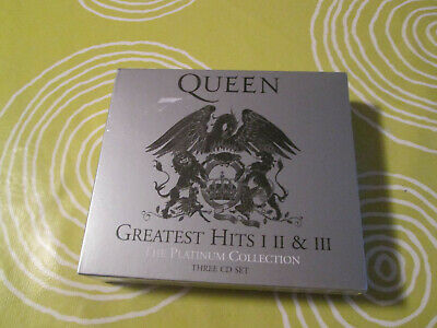 TRIPLE CD QUEEN-GREATEST HITS I - II - III The platinum collection 2011