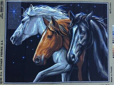 Tapestry - Printed Canvas - 'Chevauchee nocturne' - Made in France Royal Paris